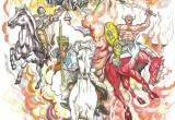 4 Horse man Finished