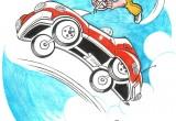 Gene LeBell Car Stunt