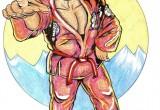 Gene LeBell Pink Gi