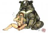 Gene LeBell vs Bear