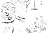 Restaurant Sketch 1