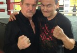 Roddy Piper and Steve Kim