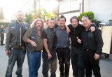With the Sons of Anarchy Cast